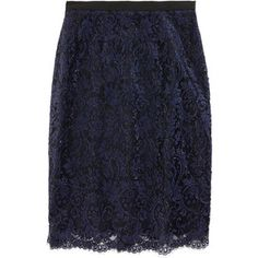 Prabal Gurung Lace Pencil Skirt