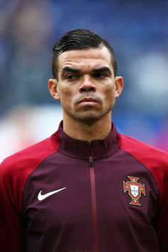 Pepe Photos - Pepe of Portugal lines up prior to the FIFA Confederations Cup Russia 2017 Group A match between New Zealand and Portugal at Saint Petersburg Stadium on June 24, 2017 in Saint Petersburg, Russia. - New Zealand v Portugal: Group A - FIFA Confederations Cup Russia 2017
