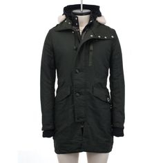 CROSS-DYED OXFORD TRENCH PARKA - Ma.Strum
