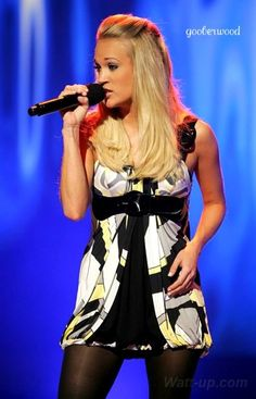 Carrie Underwood! Amazing singer, & so beautiful :)!