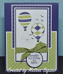 up up and away stampin up - Google Search