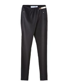 Black Harem Pants with Pleated Waist....ahhh why? I love these pants but hate pleats!!!