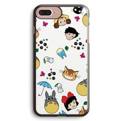 All My Neighbors Totoro Doodle Apple iPhone 7 Plus Case Cover ISVB362