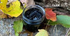 Drawing Salve Recipe {with charcoal & clay}