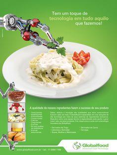 Anúncio Globalfood Tecnologia