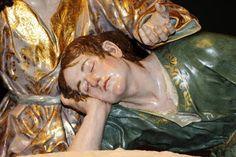La Última Cena. Cofradía de Ntro. Padre Jesús Nazareno de Murcia. Obra de Francisco Salzillo. 1763 || San Juan