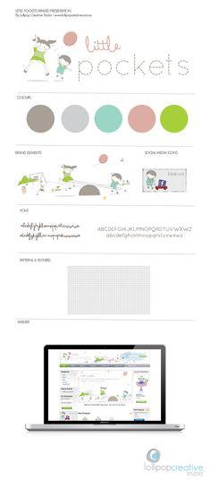 Baby Logo | Children branding | Little Pocket #Brandboard Lollipop Creative Studio