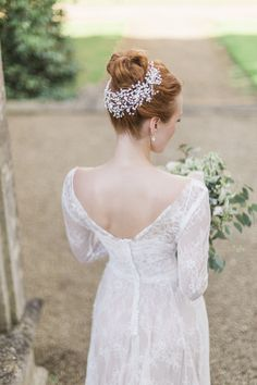 Hermione Harbutt: Nature Inspired Hair Vines and Delicate Bridal Headpieces