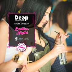 #DeepPink #LadiesNight #MondayNights