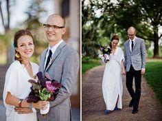 Handmade Geometric Wedding: Lindsay + Brian