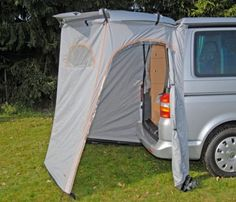 Reimo 90013 Rear Tailgate Storage Awning Tent for VW Camper for sale online Vw Camper, Camper Life, Eurovan Camper, Minivan Camping, Truck Camping, Volkswagen California, T6 California, Camping Ideas, Camping Hacks