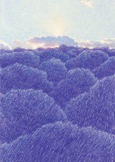 """트위터의 kokooma 님: """"… """" Color Pencil Art, Environment Concept Art, 2d Art, Aesthetic Art, Line Drawing, Digital Illustration, Art Inspo, Art Drawings, Cool Art"""