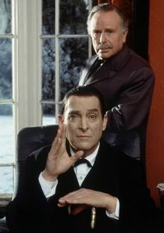 Watson and Holmes are here to listen (Edward Hardwick & Jeremy Brett)