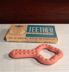 E-Z Teether teething ring . . had a blue one like this for my boys
