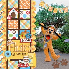 Perfect colors and elements to digiscrap Pluto, by My Own Little Chair Designs
