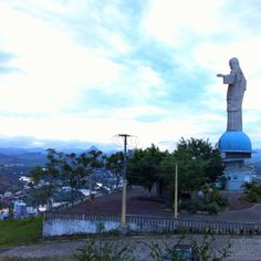 In my city (don't Rio), Itaperuna-RJ-Brazil has Christ the Redeemer! This is Lord of lords...