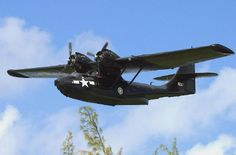 1936 Consolidated PBY Catalina flying boat.