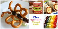 Five Epic Movie Snacks #Epic #EpicDay