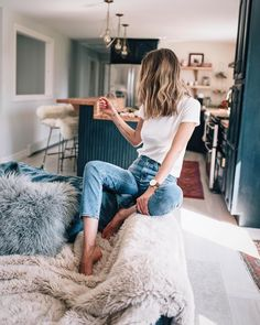 Comfy casual and hanging out at home via @jessannkirby