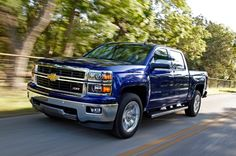 2014 Chevrolet Silverado - an all new truck design meant with creature and high tech comforts