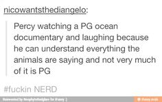 I'm not in the Percy Jackson fandom and this is funny Percy Jackson Books, Percy Jackson Fandom, Solangelo, Percabeth, Rick Riordan Books, Nerd, Uncle Rick, Heroes Of Olympus, Book Fandoms