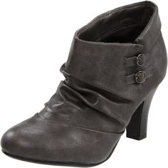 Gray boots, affordable in my size!  Where's the money fairy?