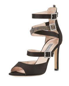 8bd3b8e54ef SJP by Sarah Jessica Parker Fugue Strappy Satin Sandal Strappy Sandals