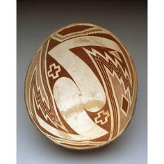 Bowl with geometric design, Mogollon culture, Mimbres people, c. 1000-1150, ceramic; Mimbres Black-on-white type, Dallas Museum of Art, gift of Martin Matyas, Bob Rheudasil and Mrs. Edward S. Marcus in honor of Edward S. Marcus
