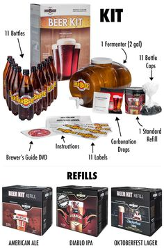 Mr. Beer Craft Collection Home Brewing Kit pic