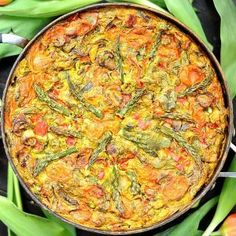 Frittata (Vegan, Paleo, Gluten Free)
