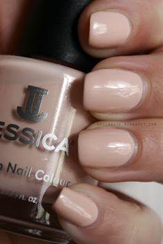 Jessica Summer Lovin' #nude #manicure #nailpolish #beauty