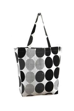 House This Multi Polka Dot Cotton Tote Bag