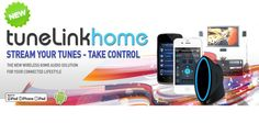 TuneLink Home - TRUE WIRELESS HOME AUDIO The most advanced and highest fidelity wireless Bluetooth stereo audio and Infrared remote control solution for iPhone, iPod touch, iPad and Android available. Iphone 4s, Apple Iphone, Samsung, Gadgets, Ipod Touch, Audio, Apps, Technology, Remote