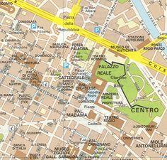 torino mappa monumenti - Cerca con Google