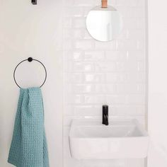 The black towel hanger is both beautiful and functional – the perfect accessory for a modern bathroom. Made of black stained oak and black metal, by Ferm Living. Bathroom Accessories, Home Accessories, Black Towels, Shops, Towel Hanger, Downstairs Bathroom, Bathroom Stuff, Bathroom Ideas, Black Stains