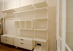 Walk In Closet, Closets, Interior, Home Decor, Dressing Room, Armoires, Decoration Home, Fitted Wardrobes, Indoor
