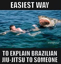 Rolling with sharks Karate, Jiu Jitsu Quotes, Bjj Memes, Funny Memes, Jokes, Jiu Jitsu Training, Krav Maga Self Defense, Ju Jitsu, Martial Arts Training