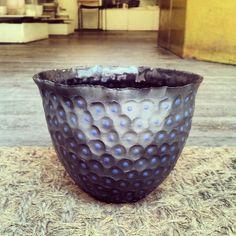 black porcelain bowl