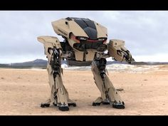 Future Robot WARS - Usa VS Russia Military Power Video by Military Arena on Youtube