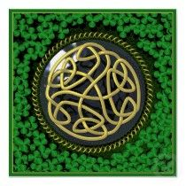 celtic and clover Celtic Symbols, Celtic Art, Celtic Knots, Celtic Pride, Irish Celtic, Celtic Patterns, Celtic Designs, Vikings, Celtic Images