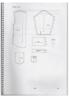 Apostila do Senai modelagem Pants Pattern, New Shop, Sewing Clothes, Sewing Patterns, Jumper, Diy, Pattern Sewing, Sewing Tips, Cut Clothes