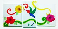 tris beija flor