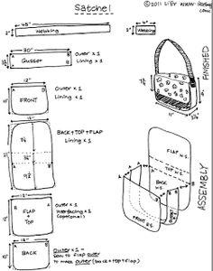 ikat bag: School Party - Satchels