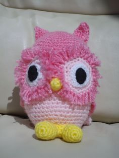 Olivia Owl - a crochet project for my grandchild