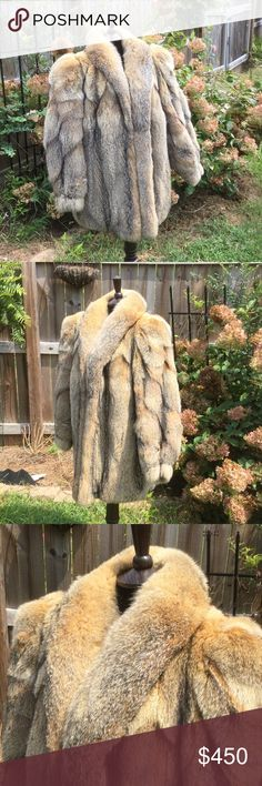 Genuine Patagonia Fox Fur Coat Amazing glamour and elegance ! In a like new condition,  beautifully preserved, clean lining , non smoker, rare authentic rare Patagonia Fox Fur with beautiful thick undercoat. Top quality pelts extra plush Patagonia Fox by Argentina Furrier. Retail over 3000 Argentina Jackets & Coats