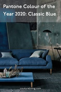 Find out about the newly crowned Pantone Colour of the Year in the Couture Living blog. Discover how to match this timeless blue hue with stunning made to measure curtains or blinds by Couture Living.