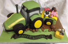 Down on the farm! Down On The Farm, Cakes, Desserts, Food, Tailgate Desserts, Deserts, Food Cakes, Eten, Postres