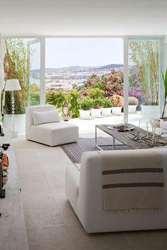 Open patio
