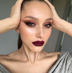 "5,769 curtidas, 33 comentários - @tominamakeup no Instagram: ""Eye &a brow makeup was all made using @nablacosmetics  My awesome bomb @diana_piner…"""