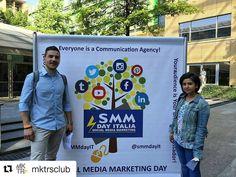 #Repost @mktrsclub with @repostapp  Ed eccoci a Milano prontissimi per questa giornata da media partner al Social Media Marketing Day!  Seguiteci su Twitter @mktrsclub per non perdervi un solo momento della giornata! #SMMdayIT